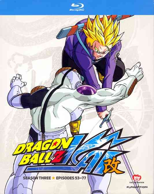 DRAGON BALL Z KAI:SEASON THREE BY DRAGON BALL Z KAI (Blu-Ray)