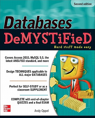 Databases Demystified By Oppel, Andy